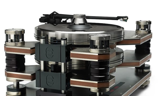 Pure sound: The world's only counter-balanced turntable