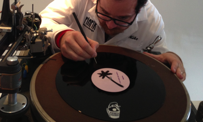 Young Turks open 'Palm Springs Vinyl Press' at Coachella; while-U-wait represses of The XX and SBTRKT