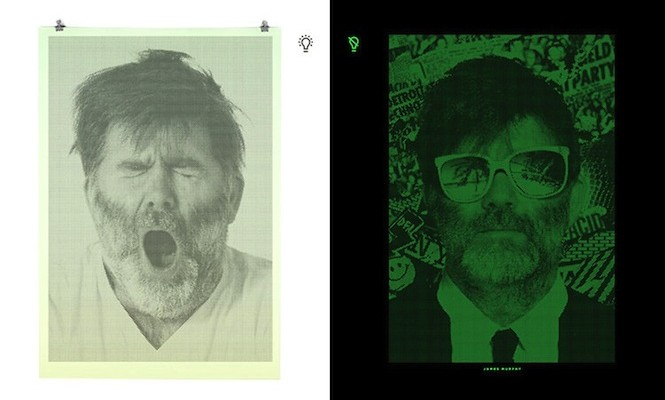 DJs by day: Glow-in-the-dark portraits reveal the dual life of the disc jockey