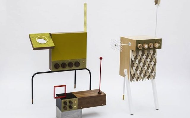 """Moog collaborate with Butterscotch Records for exhibition of charming """"sculptural"""" Theremins"""