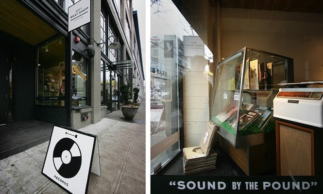 Have a butcher's…Pop-up record shop sells vinyl by the pound