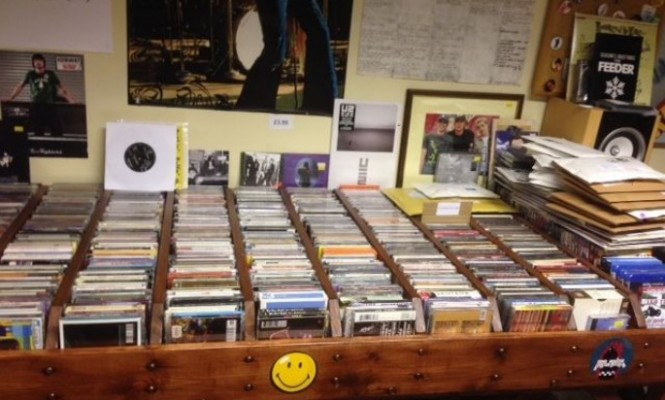 Devon record shop up for sale on eBay for just £9000