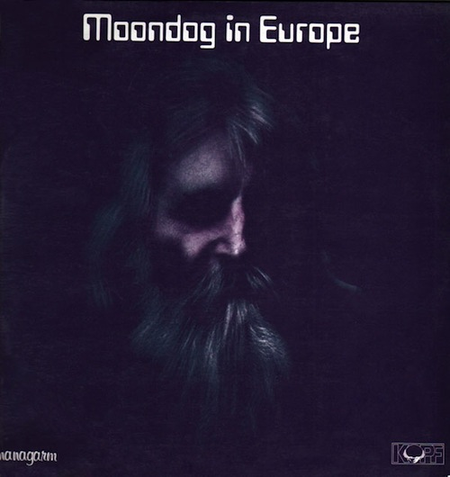 moondog in europe