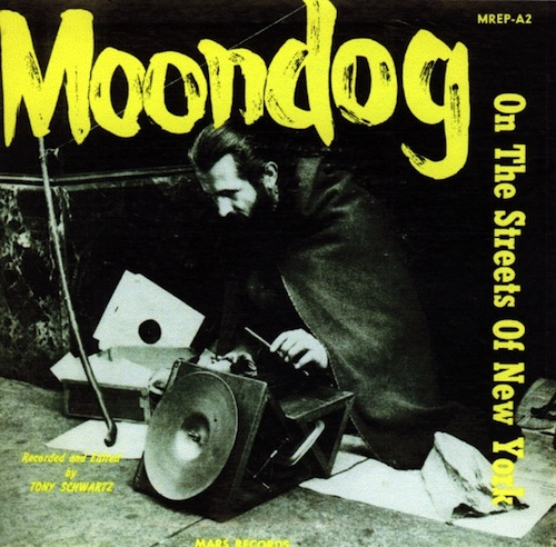 moondog on the streets of new york