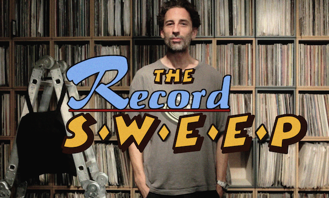The Record Sweep: Watch Luke Vibert try and spend £100 on vinyl in 10 minutes