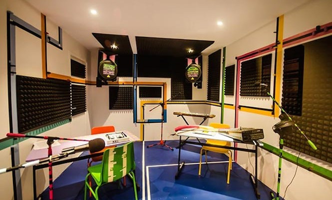 Sound artists collaborate with The Vinyl Factory to create a recording studio in Dubai