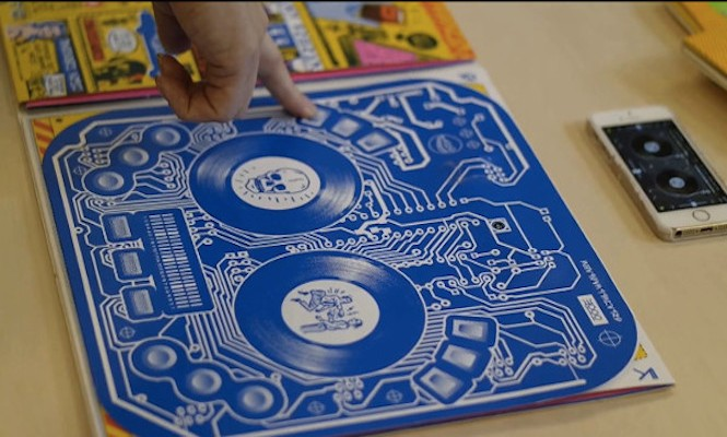 DJ Qbert's new album sleeve doubles up as a DJ controller