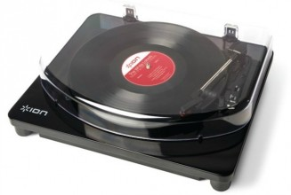 This bluetooth turntable lets you play vinyl wirelessly