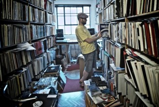 Video: Have a look around Joey Negro's enormous record collection
