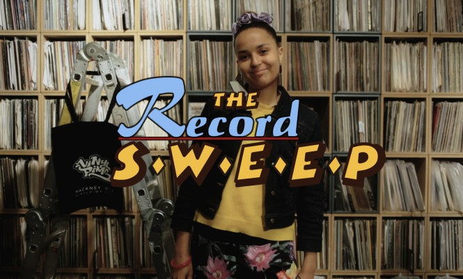 The Record Sweep: Watch Fatima try and spend £100 on vinyl in just 10 minutes