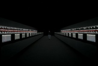 Ryoji Ikeda and The Vinyl Factory present <em>supersymmetry</em> at Brewer Street Car Park