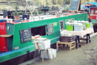 There is a record store boat docked in London right now and ready to tour the UK