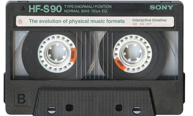 The evolution of physical music formats – an interactive timeline