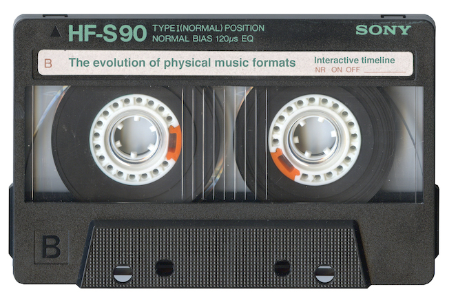 the evolution of physical music formats an interactive timeline