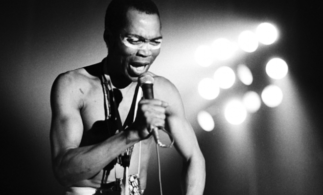 Hear Fela Kuti's first ever recording, unearthed after over fifty