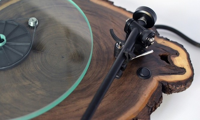 Kickstarter launched for company that makes turntables out of wood