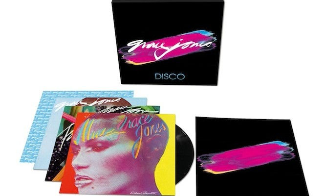 Grace Jones&#8217; first three LPs reissued on vinyl as <em>The Disco Years</em> box set