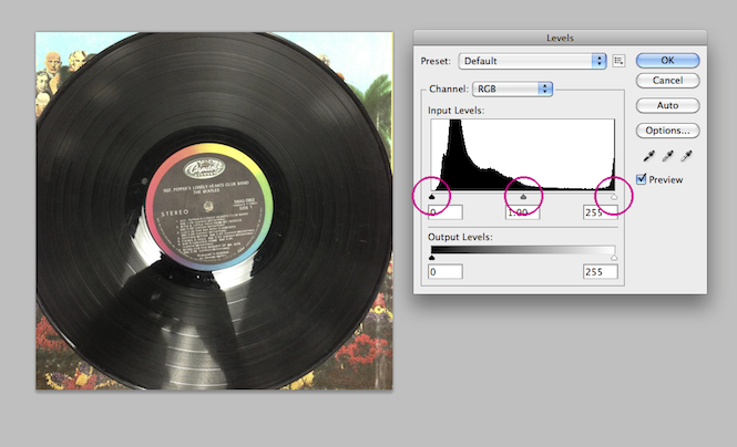 How to use Photoshop to help you buy second hand records online