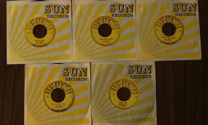 elvis-presleys-complete-sun-records-45s-could-be-yours-for-32500