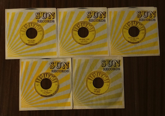 Elvis Presley S Complete Sun Records 45s Could Be Yours