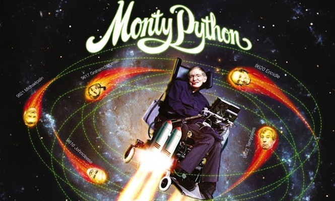 Professor Stephen Hawking covers Monty Python for the 7″ no RSD shopping list should ignore