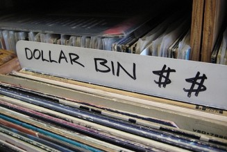 15,000 records for $1 each at this store's fire sale