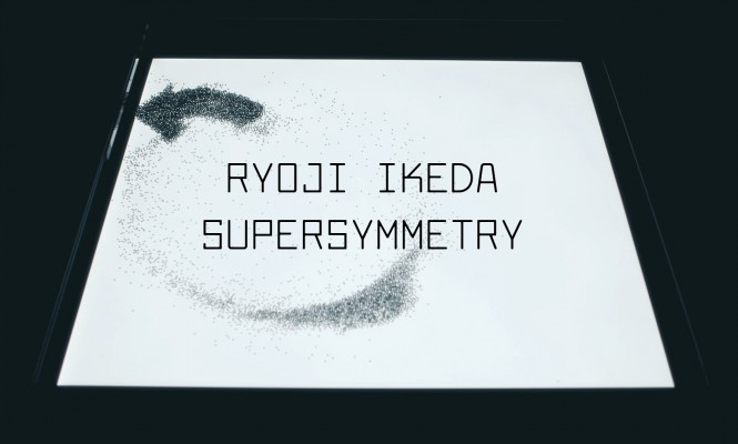 Watch a trailer for Ryoji Ikeda&#8217;s <em>supersymmetry</em> installation open now at Brewer Street Car Park