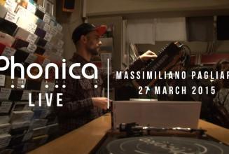 Watch disco legend Massimiliano Pagliara's vinyl mix at Phonica Records