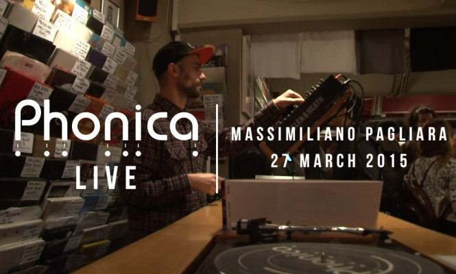 Watch disco legend Massimiliano Pagliara's vinyl mix at Phonica Records