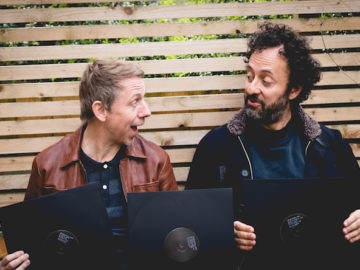 Listen to Gilles Peterson and Trevor Jackson discuss graphic design, London club culture and FORMAT