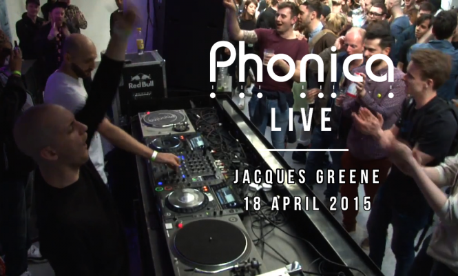 Watch Jacques Greene DJ at Phonica's Record Store Day Party 2015