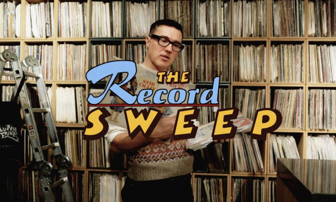 The Record Sweep: Watch Jonny Trunk try and spend £100 on vinyl in just 10 minutes
