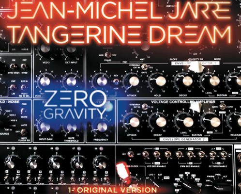 Tangerine Dream and Jean-Michel Jarre release synth odyssey 'Zero Gravity' on vinyl