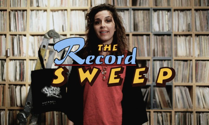 The Record Sweep: Watch Rita Maia try and spend £100 on vinyl in just 10 minutes