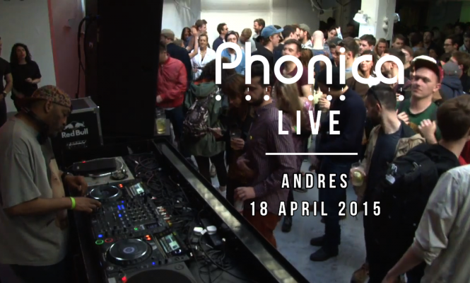 Watch Andrés DJ at Phonica's Record Store Day Party 2015