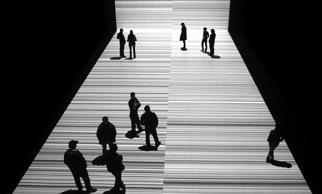 Data as spectacle: An introduction to the work of Ryoji Ikeda