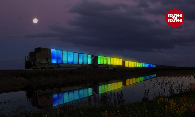 """""""It's like a cultural particle accelerator"""": Doug Aitken explains the ambitious Station to Station"""