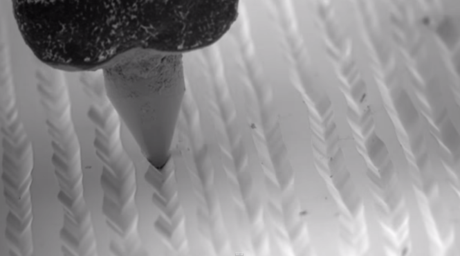 Watch A Stunning Microscopic Slow Motion Video Of A Needle