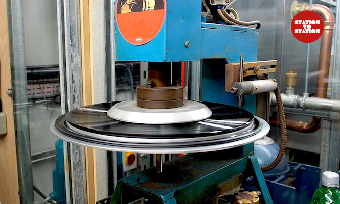Performed, printed and pressed: Making vinyl records from scratch at Station To Station