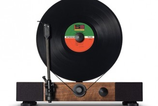 Gramovox unveil Floating Record vertical turntable