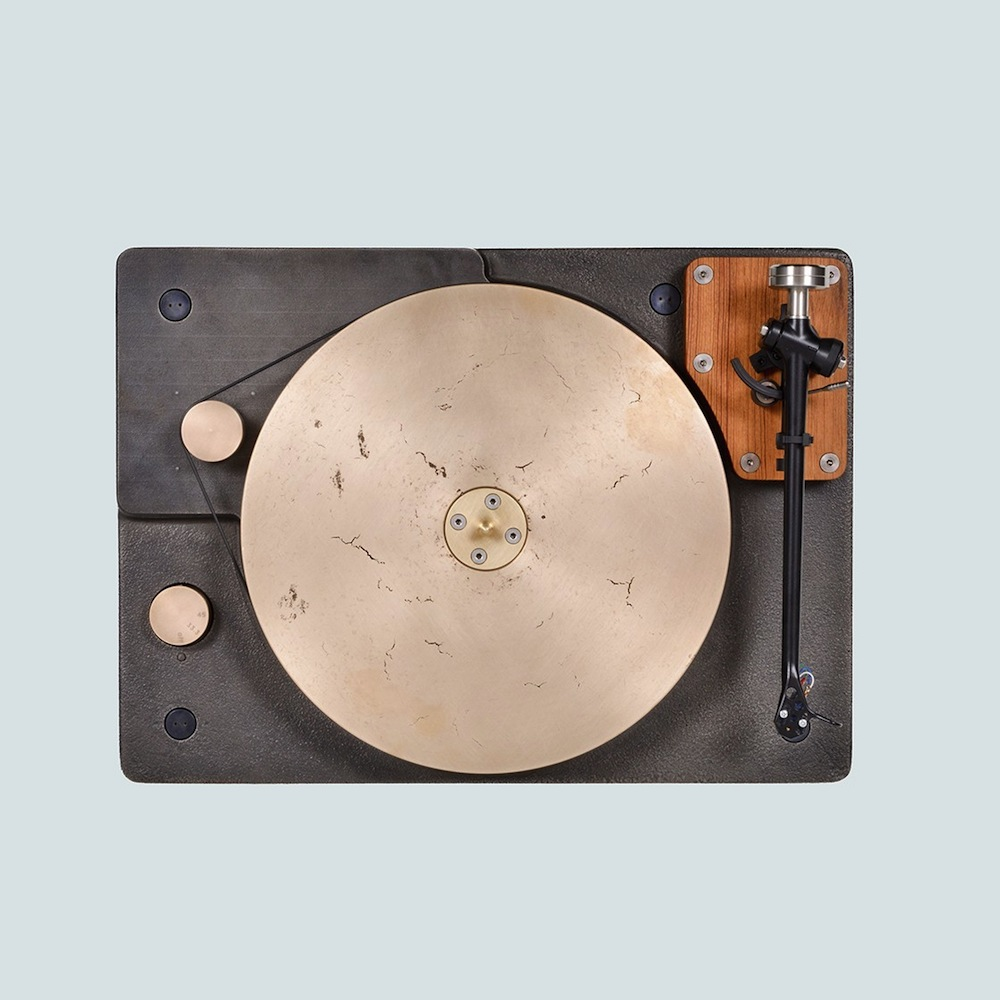 This state-of-the-art cast-iron turntable is one of the most beautiful we've ever seen