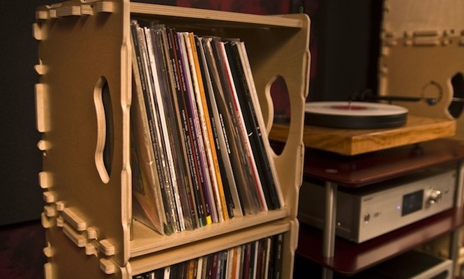 wax stacks the new inter locking collapsable record