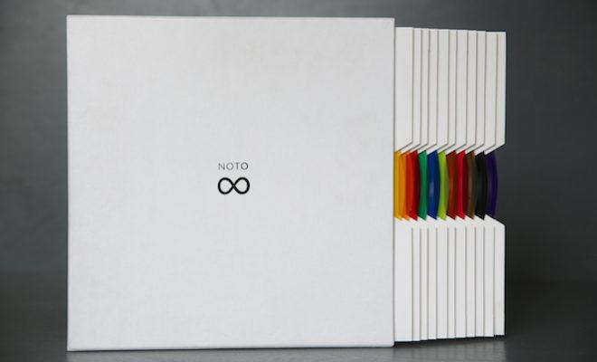carsten-nicolai-announces-bausatz-noto-vinyl-box-set-containing-twelve-10-multi-coloured-records-featuring-over-200-unique-grooves