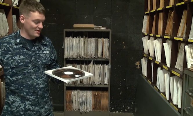Inside Guantanamo Bay's collection of over 20,000 vinyl records and reel-to-reel tapes