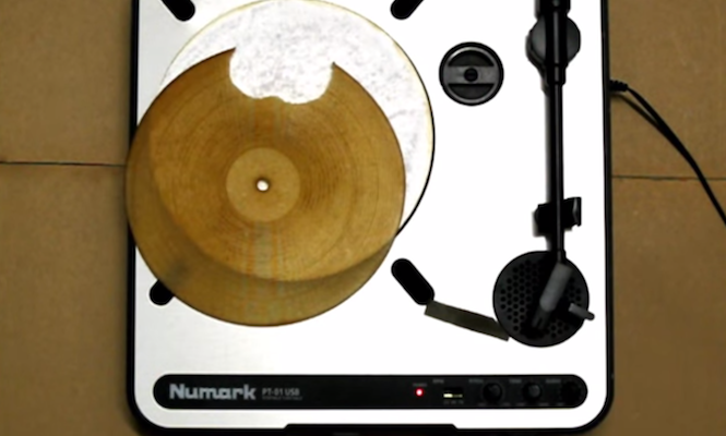 Watch A Tortilla Get Turned Into A Playable Record The