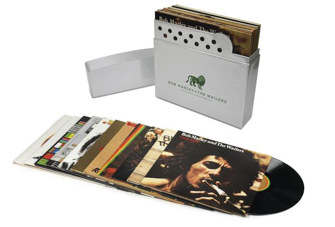 Bob Marley Treated To 11xlp Vinyl Box Set The Complete