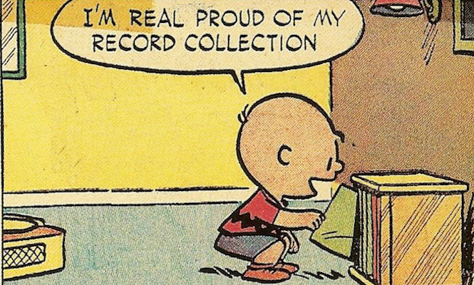 charlie-brown-record-collecting-peanuts-vinyl-comic-strips