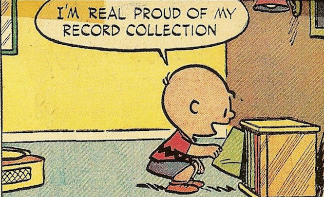 Charlie Brown On Record Collecting The Very Best Peanuts