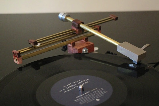 Amateur Inventor Develops New Tonearm To Tackle Vinyl
