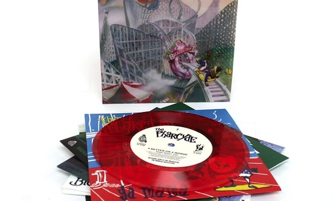 "<em>Bizarre Ride II The Pharcyde</em> to be reissued on 7&#215;7"" coloured singles discs"